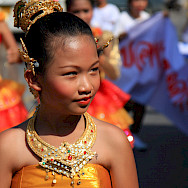 Ceremonial dress in Phuket, Thailand. Photo via Flickr:Binder.donedat