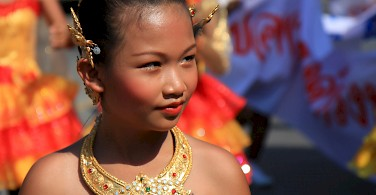 Dressed up for the parade in Phuket, Thailand. Photo via Flickr:Binder.donedat
