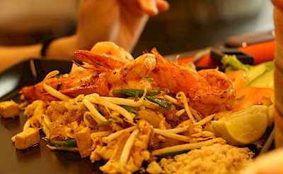 Delicious Thai food as you can only find in Thailand. Photo via Flickr:Joy Kong