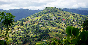 Gorgeous tropical hills in Cebu, the Philippines. Photo via Flickr:Brian Evans
