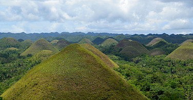 Chocolate Hills, Bohol, the Philippines. Flickr:shankars