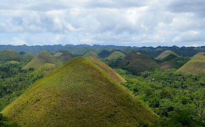 Chocolate Hills, Bohol, the Philippines. Flickr:shankars