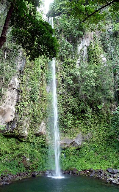 Katibawasan Falls, southeast of Mambajao, Camiguin, the Philippines. Flickr:Allan Ascano