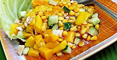 Mango salad in Cebu City, Cebu, the Philippines. Photo via Flickr:fitri agung