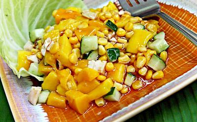 Mango salad in Cebu City, Cebu, the Philippines. Flickr:fitri agung
