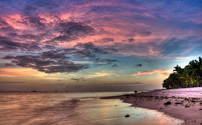 Gorgeous sunsets every night in the Philippines. Panglao Beach. Flickr:Greg