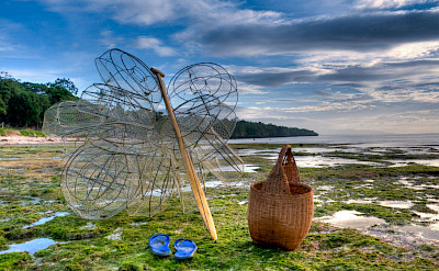 Fishing gear ready on Panglao Island, the Philippines. Flickr:Greg