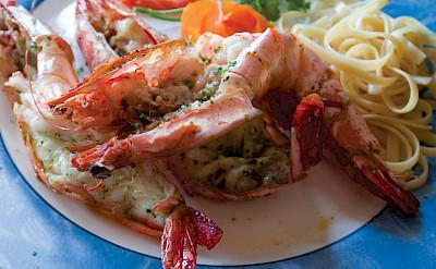 Shrimp for lunch in Cebu City in the Philippines. Flickr:Benjie Ordonez