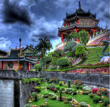 Taoist Temple in Cebu City, the Philippines. Flickr:dfc works