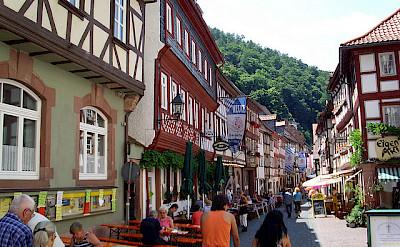 Shopping in the old town on Schwarzviertel, Miltenberg. Photo via Flickr:teutonic nights