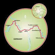 Miltenberg to Cochem Map