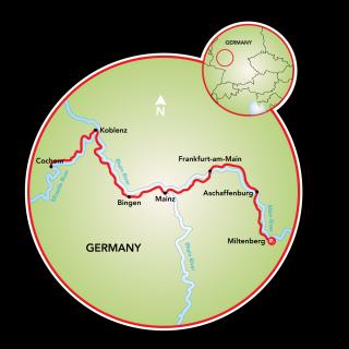 Miltenburg a Cochem Map