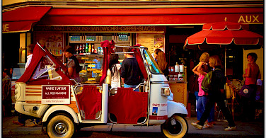 Fun times in Paris, France. Flickr:Moyan Brenn