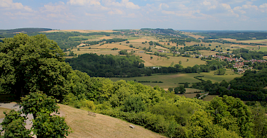 Cycling through the beautiful Burgundy countryside! Photo via Flickr:Navin75