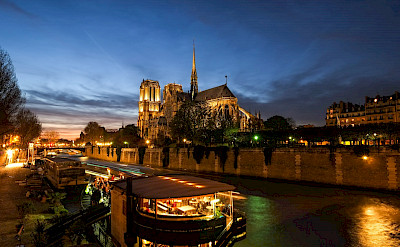 Notre Dame Cathedral on the Seine River, Paris, France. Flickr:Nick Harris
