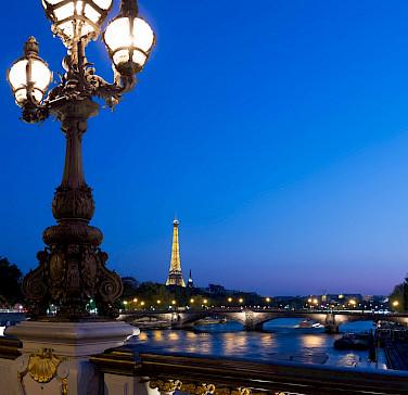 Eiffel Tower in Paris, France. Photo via Flickr:JoedeSousa