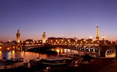 Pont Alexandre III arch bridge over the Seine River in Paris. France. Creative Commons:Dimitri Destugues