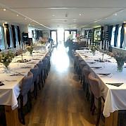 Dining | Magnifique II | Bike & Boat Tours