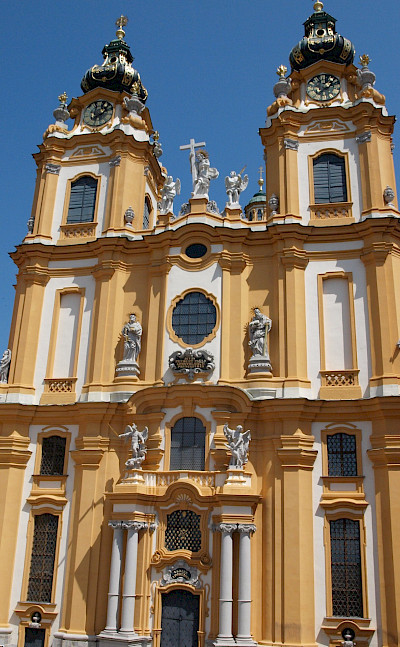 Melk Abbey in Melk, Austria. Flickr:Nigel Swales