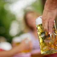 Beer break in Passau, Germany. Photo via TO