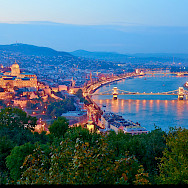 Danube River in Budapest, Hungary. Flickr:Moyan Brenn