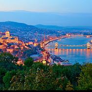 Danube River in Budapest, Hungary. Photo via Flickr:Moyan Brenn