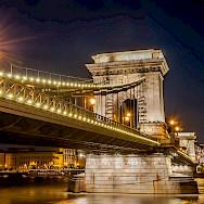 Chain Bridge in Budapest, Hungary. Creative Commons:Wilfredor