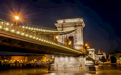Chain Bridge in Budapest, Hungary. Creative Commons:Wilfredor