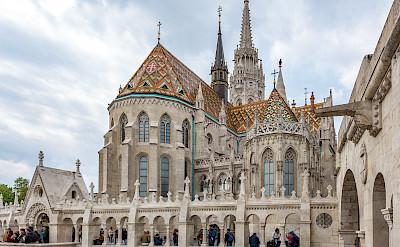 Wondrous architecture & Churches in Budapest, Hungary. Flickr:Keith Yahl