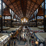 Markthalle in Budapest, Hungary. Photo via TO