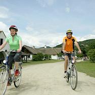Biking the Danube River to Budapest Bike Tour. Photo via TO