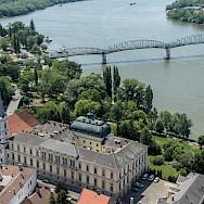 Esztergom along the Danube in Hungary. Photo via Flickr:Andrew Moore