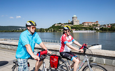 Biking the Danube in Esztergom, Hungary. Photo via TO