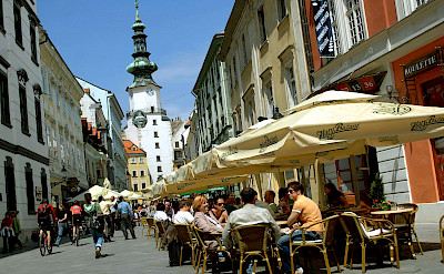 Michael's Gate in Bratislava, Slovakia. ©Bratislava Tourismus