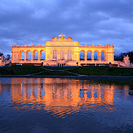 Schönbrunn Palace gardens in Vienna, Austria. Photo via Flickr:Anthony Greyes