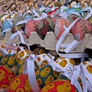 Schönbrunn Palace Easter Market in Vienna, Austria. Flickr:Su-May
