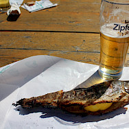 Steckerlfisch is a Danube specialty! Photo via TO