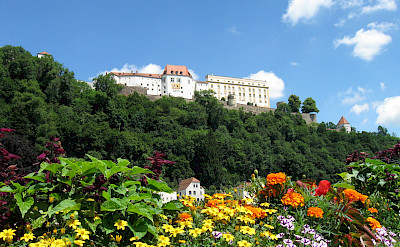 Veste Oberhaus in Passau, Germany. Photo via TO