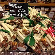 Chocolate Spargel in Vienna, Austria. Flickr:Andrew Nash