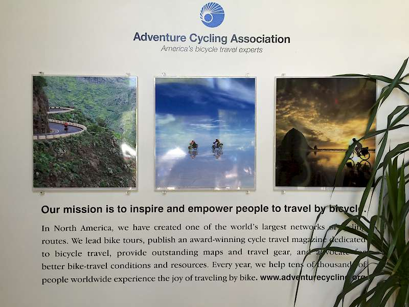 Adventure Cycling Association lobby