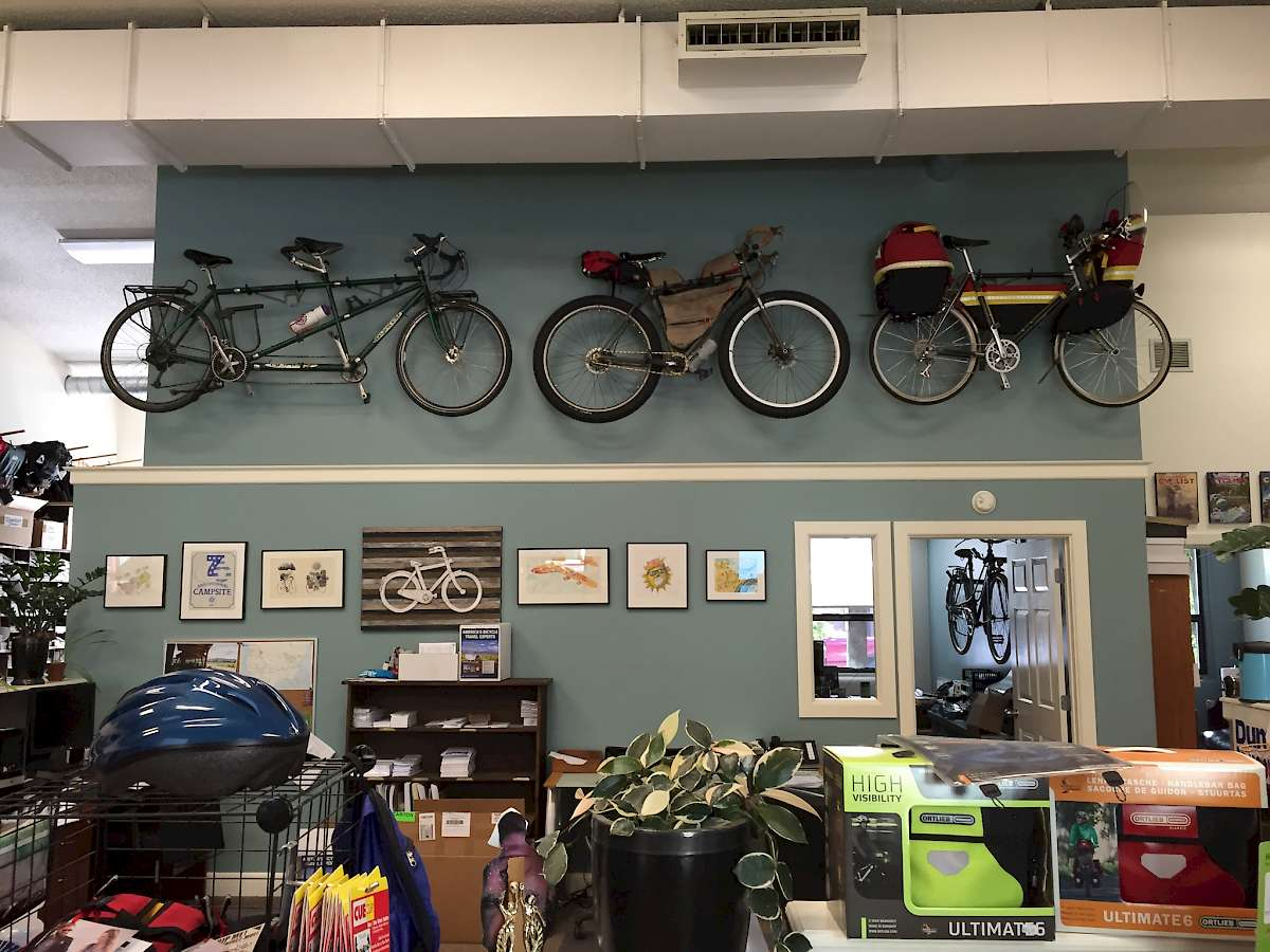 Adventure Cycling Association headquarters Missoula, Montana