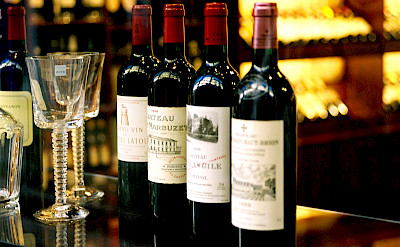 Some of Bordeaux's most renowned wines. Flickr:filtran