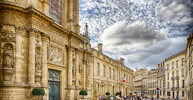 Beautiful Bordeaux in soutwestern France. Photo via Flickr:Jean Balczesak