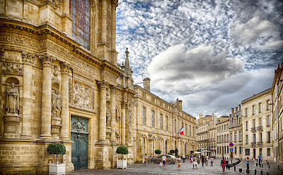 Beautiful Bordeaux in southwestern France. Flickr:Jean Balczesak