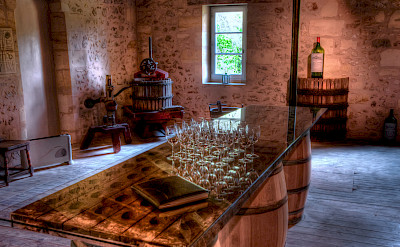 Wine tasting aplenty in Bordeaux, France. Flickr:Erik Soderstrom