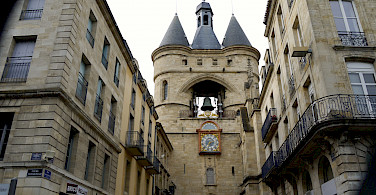 Porte de la Grosse Cloche, a Bordeaux gate. Photo via Flickr:Jean Robert Thibault