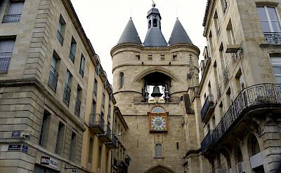 Porte de la Grosse Cloche, a Bordeaux gate. Photo via Flickr:Jean Robert Thibault