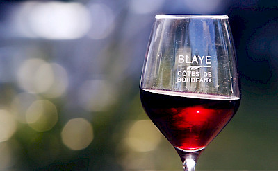 Many great local wines in the Blaye Cotes de Bordeaux region. Photo via Flickr:Blaye Cotes de Bordeaux