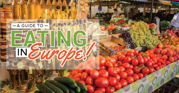 Eating in Europe: Helpful Tips