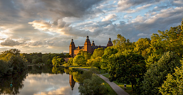 Schloss Johannisburg in Aschaffenburg, Germany. Photo via Flickr:Carsten Frenzl